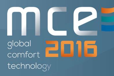 MCE 2016 - 40a Mostra Convegno Expocomfort - 15/18 marzo 2016 - fieramilano